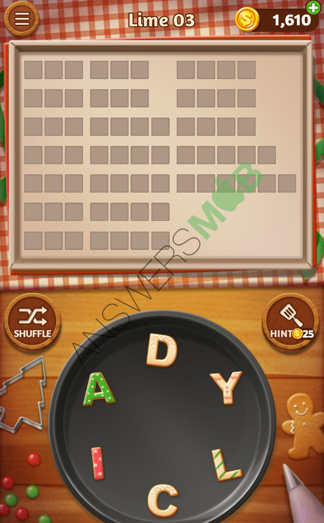 word cookies lime answers - my cheat site